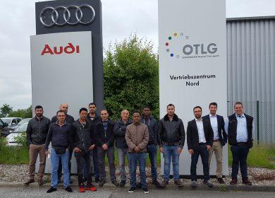 Betriebsbesichtung bei OTLG VZ Nord