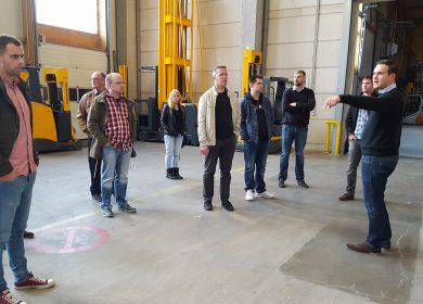 Betriebsbesichtigung bei Semmelhaack Logistik GmbH